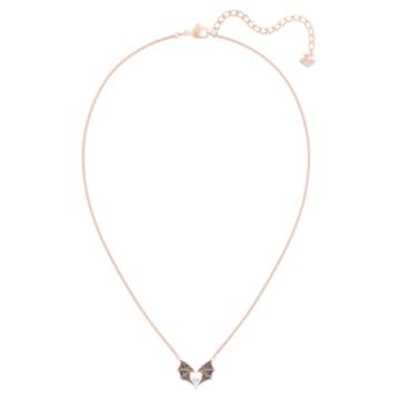 Prosperity 項鏈, 多色設計, 鍍玫瑰金色調 - Swarovski, 5491564