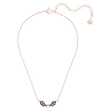 Prosperity Necklace, Multi-coloured, Rose-gold tone plated - Swarovski, 5491565