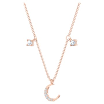 Prosperity 項鏈, 多色設計, 鍍玫瑰金色調 - Swarovski, 5491565