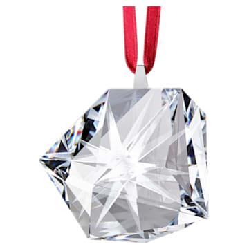 Daniel Libeskind Eternal Star Frosted Hanging Ornament, Biały - Swarovski, 5492545
