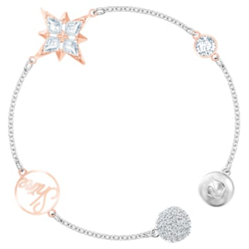 Swarovski Remix Collection Star Strand, Multi-colored, Mixed metal finish - Swarovski, 5494886