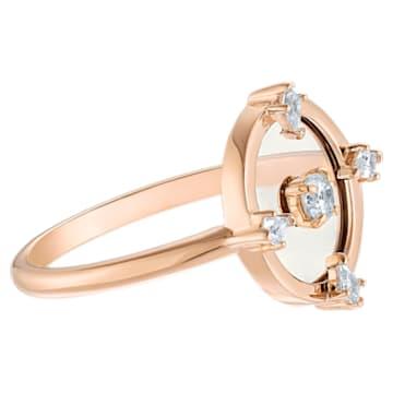 Anello con motivo North, bianco, Placcato oro rosa - Swarovski, 5495776