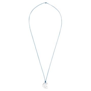 Swarovski Waterschool 项链, 大码, 品蓝色, 镀铑 - Swarovski, 5497568