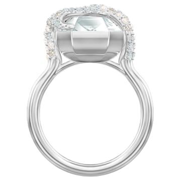 Polar Bestiary Cocktail 戒指, 多色設計, 鍍銠 - Swarovski, 5497706