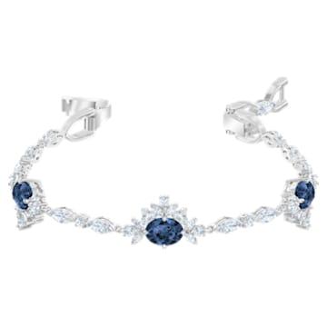 Palace Bracelet, White, Rhodium plated - Swarovski, 5498828
