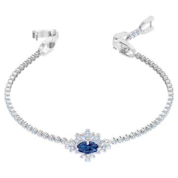 Palace Bracelet, Blue, Rhodium plated - Swarovski, 5498834