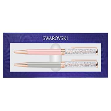 Crystalline golyóstoll szett, rozéarany árnyalatú bevonattal - Swarovski, 5499289