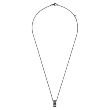 My Hero 鏈墜, 黑色, 黑色 PVD 電鍍 - Swarovski, 5499572