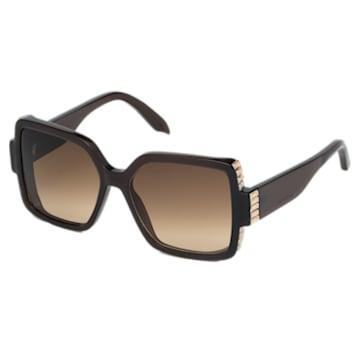 Fluid Square Sunglasses, SK237-P 36F, Brown - Swarovski, 5500205