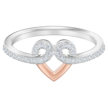 My Hero Motif Ring, White, Mixed metal finish - Swarovski, 5502940