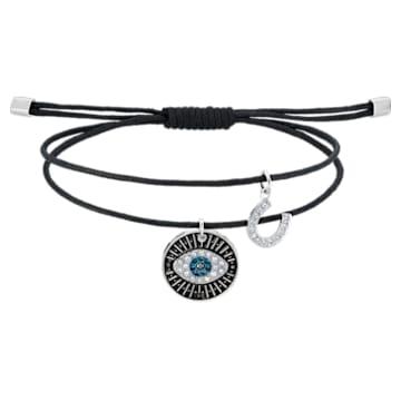 Unisex Evil Eye 手链, 彩色设计, 不锈钢 - Swarovski, 5504679