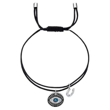 Unisex Evil Eye 브레이슬릿, 멀티컬러, 스테인리스 스틸 - Swarovski, 5504679