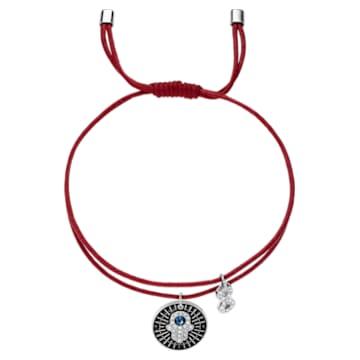 Unisex Hamsa Hand Armband, mehrfarbig, Edelstahl - Swarovski, 5504682