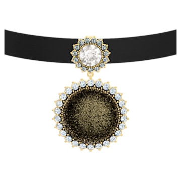 Millennium 頸鍊, 多色設計, 鍍金色色調 - Swarovski, 5505651