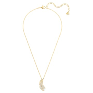 Nice Necklace, White, Gold-tone plated - Swarovski, 5505740