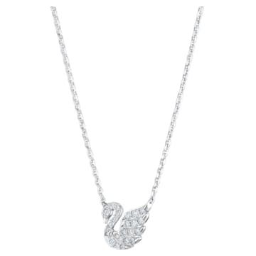 18K WG Dia Nano Swan Necklace - Swarovski, 5506545