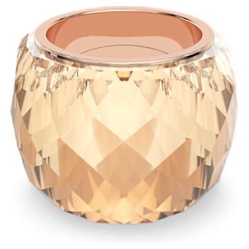 Pierścionek Nirvana, W odcieniu złota, Powłoka PVD w odcieniu różowego złota - Swarovski, 5508720
