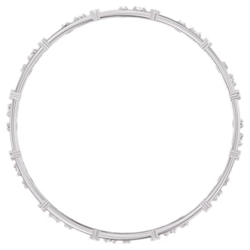 Set di bangle Moonsun, Bianco, Placcato rodio - Swarovski, 5508875