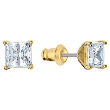 Attract Set, White, Gold-tone plated - Swarovski, 5510683