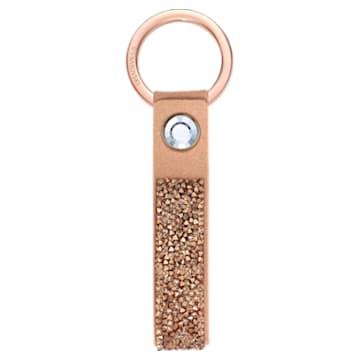 Glam Rock kulcstartó, rózsaárnyalatú arany, rozéarany árnyalatú bevonattal - Swarovski, 5510797