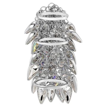 Polar Bestiary Cocktail 戒指, 多色設計, 鍍銠 - Swarovski, 5511424