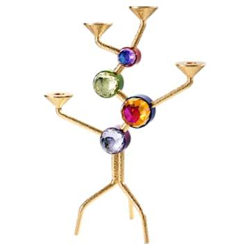 Candelabro de cuatro velas Arbol, multicolore - Swarovski, 5511523