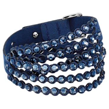 Bracelet Swarovski Power Collection, medium, Bleu - Swarovski, 5511697