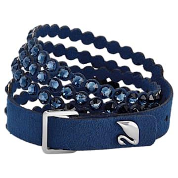 Swarovski Power Collection 手链, 中码 , 蓝色 - Swarovski, 5511697