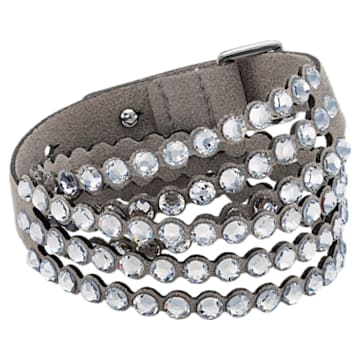 Pulsera Swarovski Power Collection, Gris claro - Swarovski, 5511698