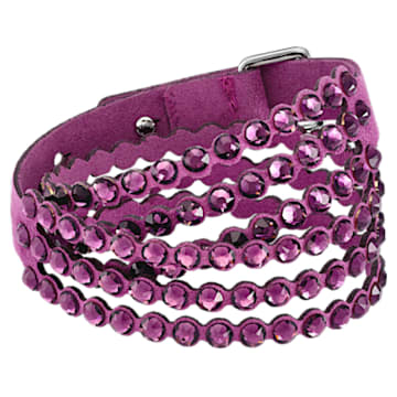 Bracelet Swarovski Power Collection, medium, Violet - Swarovski, 5511699