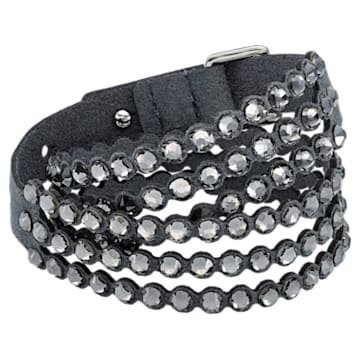 Swarovski Power Collection Bracelet, Dark Gray - Swarovski, 5512509