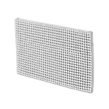 Marina Card Holder, Silver tone - Swarovski, 5513489