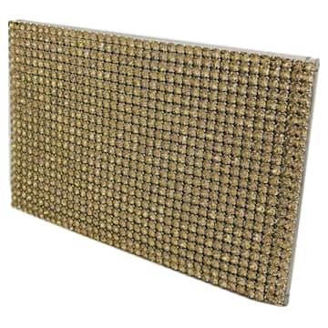 Marina Card Holder, Gold tone - Swarovski, 5513491