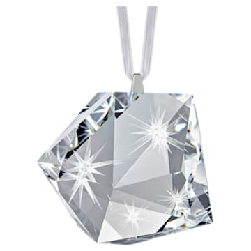 Daniel Libeskind Eternal Star Multi Hanging Ornament decoration, White - Swarovski, 5514678
