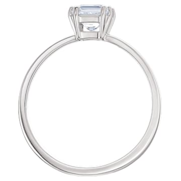Attract Motif Ring, White, Rhodium plated - Swarovski, 5515727