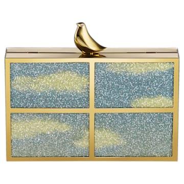 Free As A Bird Tasche, goldfarben, vergoldet - Swarovski, 5517024