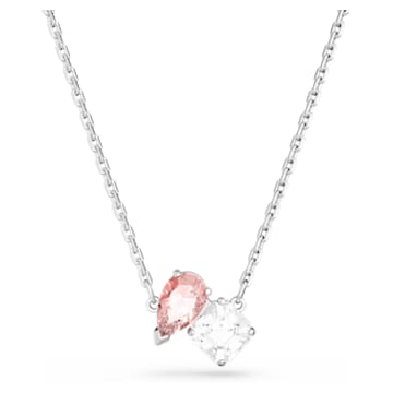 Collier Attract Soul, rose, métal rhodié - Swarovski, 5517115