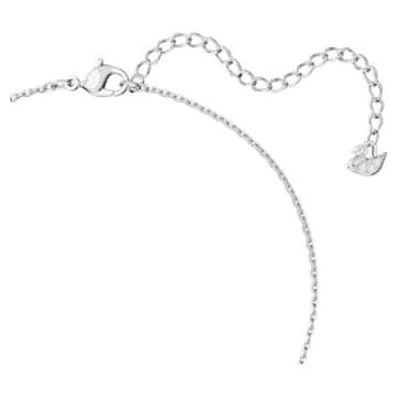 Collana Attract Soul, rosa, placcato rodio - Swarovski, 5517115