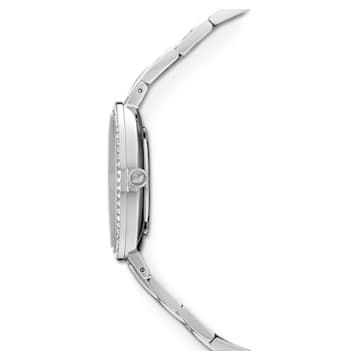Cosmopolitan óra, Fém karkötő, Kék, Rozsdamentes acél - Swarovski, 5517790