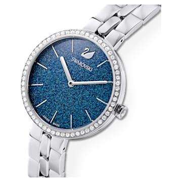Zegarek Cosmopolitan, bransoleta z metalu, niebieski, stal nierdzewna - Swarovski, 5517790