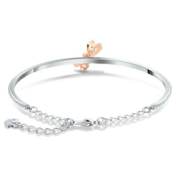 Eternal Flower-armband, Roze, Gemengde metaalafwerking - Swarovski, 5518138