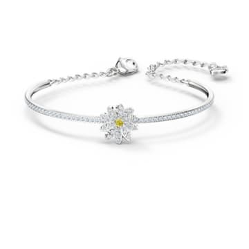 Eternal Flower Set, Yellow, Mixed metal finish - Swarovski, 5518146