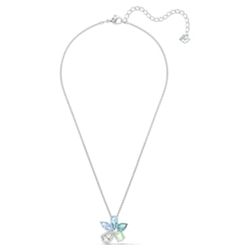 Sunny Halskette, mehrfarbig hell, rhodiniert - Swarovski, 5518414