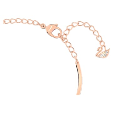 Swarovski Infinity Heart Armreif, weiss, Metallmix - Swarovski, 5518869