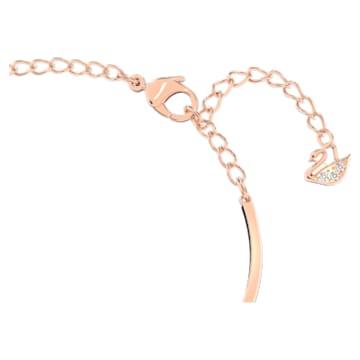 Swarovski Infinity Heart karperec, fehér, vegyes fémbevonattal - Swarovski, 5518869