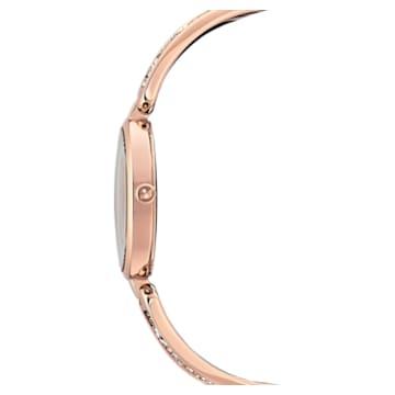 Montre Dream Rock, bracelet en métal, ton argenté, PVD doré rose - Swarovski, 5519306