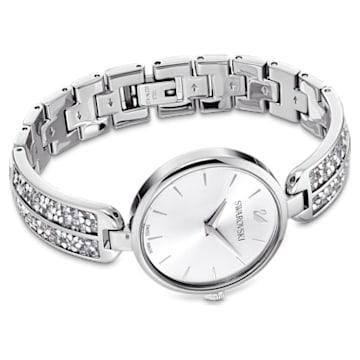 Dream Rock Uhr, Metallarmband, Silberfarben, Edelstahl - Swarovski, 5519309