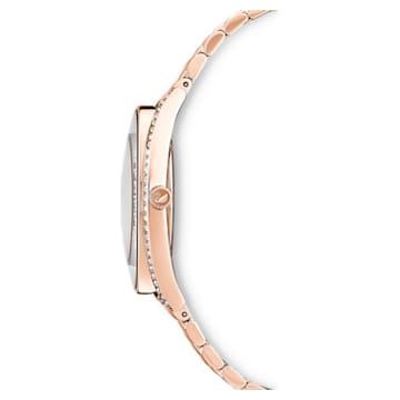 Crystalline Aura 手錶, 金屬手鏈, 玫瑰金色調, 玫瑰金色調PVD - Swarovski, 5519459