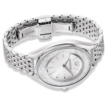 Montre Crystalline Aura, bracelet en métal, ton argenté, acier inoxydable - Swarovski, 5519462