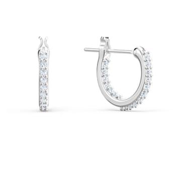 Lifelong Heart Серьги, Белый Кристалл, Отделка из разных металлов - Swarovski, 5520652